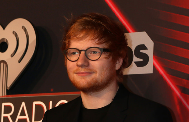 Ed Sheeran I Heart Radio awards 2017