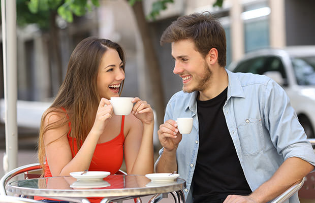 bigstock-Couple-Or-Friends-Talking-And--91870823